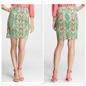 Ann Taylor BRAND NEW Paisley skirt